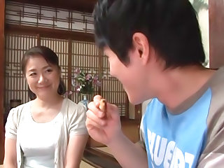 Kaoru Namiki best mature sex with insane doggy riding sex
