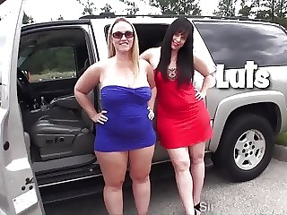 Two Sluts Fuck Strangers in Field