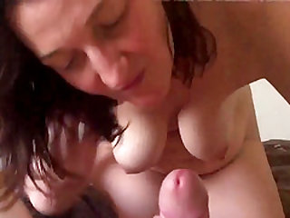 My amateur mature wife still takes a good care of me