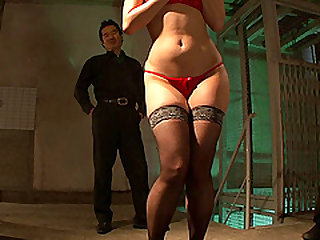 Amazing BDSM games with stunning brunette chick Sho Nishino