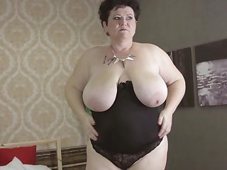 Busty senorita engages in one of hers long masturbation adventures