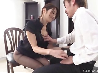 Cock sucking is something that the Japanese babes are so good at!