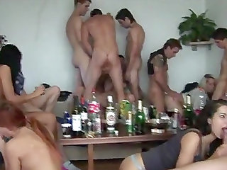 Czech home holiday orgy with new neighbors
