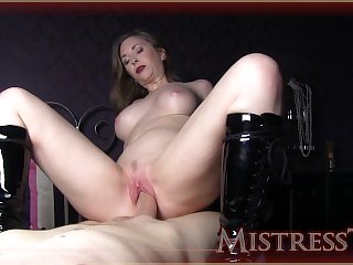 Mistress T bottss latex