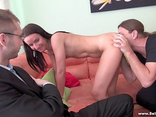 Sell Your GF - Promesita - Punished with sex-for-cash