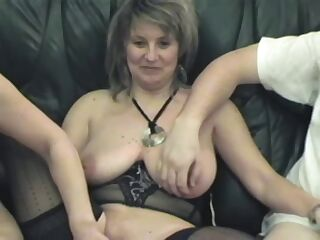 Older French Swinger Wife 5