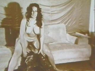 Horny Babes Get Fucked and Creampied in a Super Hot Retro Orgy